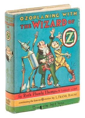 Ozoplaning with the Wizard of Oz in DJ