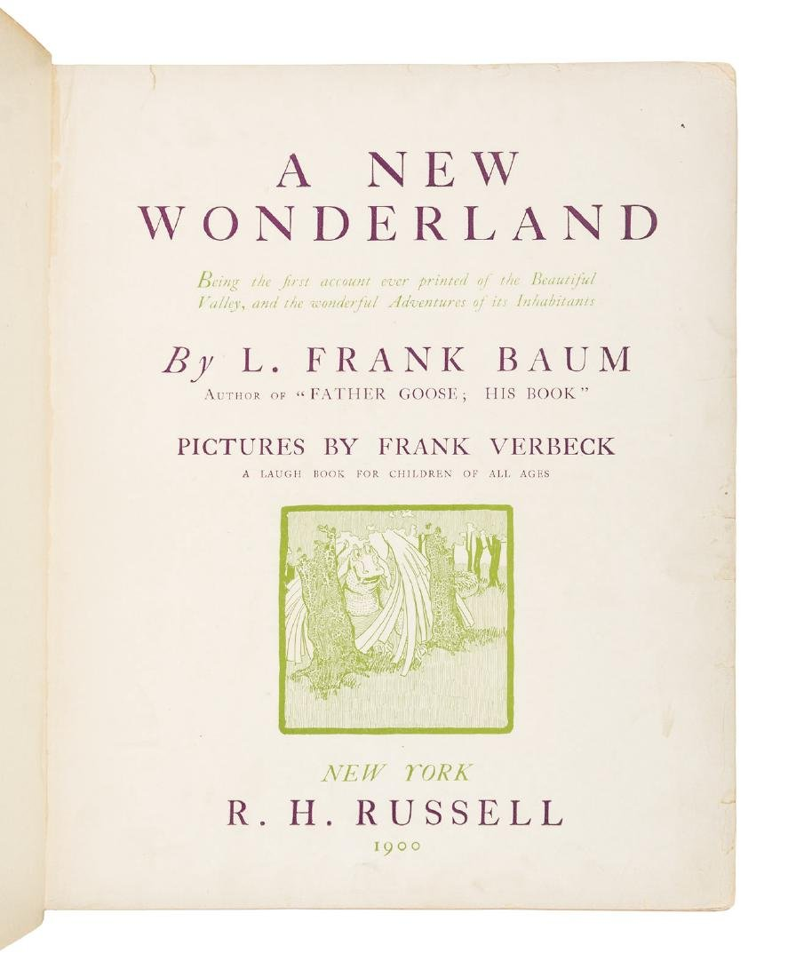 L. Frank Baum A New Wonderland 1900 - 2