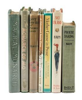 Seven non-Oz books by L. Frank Baum