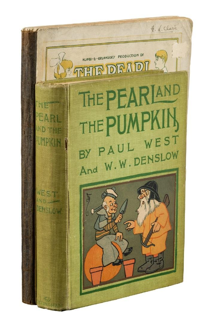 The Pearl and the Pumpkin - two editions