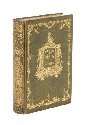 J.M. Barrie Peter and Wendy 1st American Edn