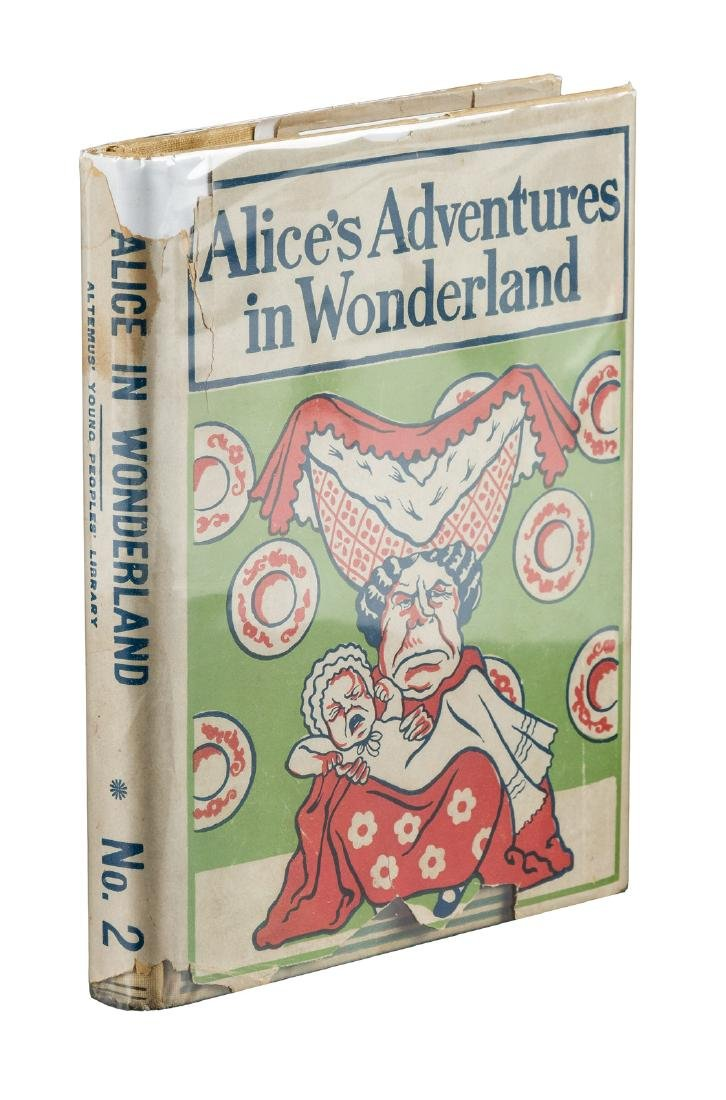 Altemus Alice in Wonderland with dust jacket