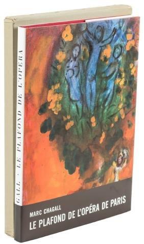 Marc Chagall Paris Opera with original litho and