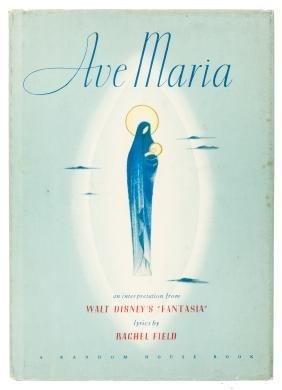 Fantasia's Ave Maria, signed by Walt Disney