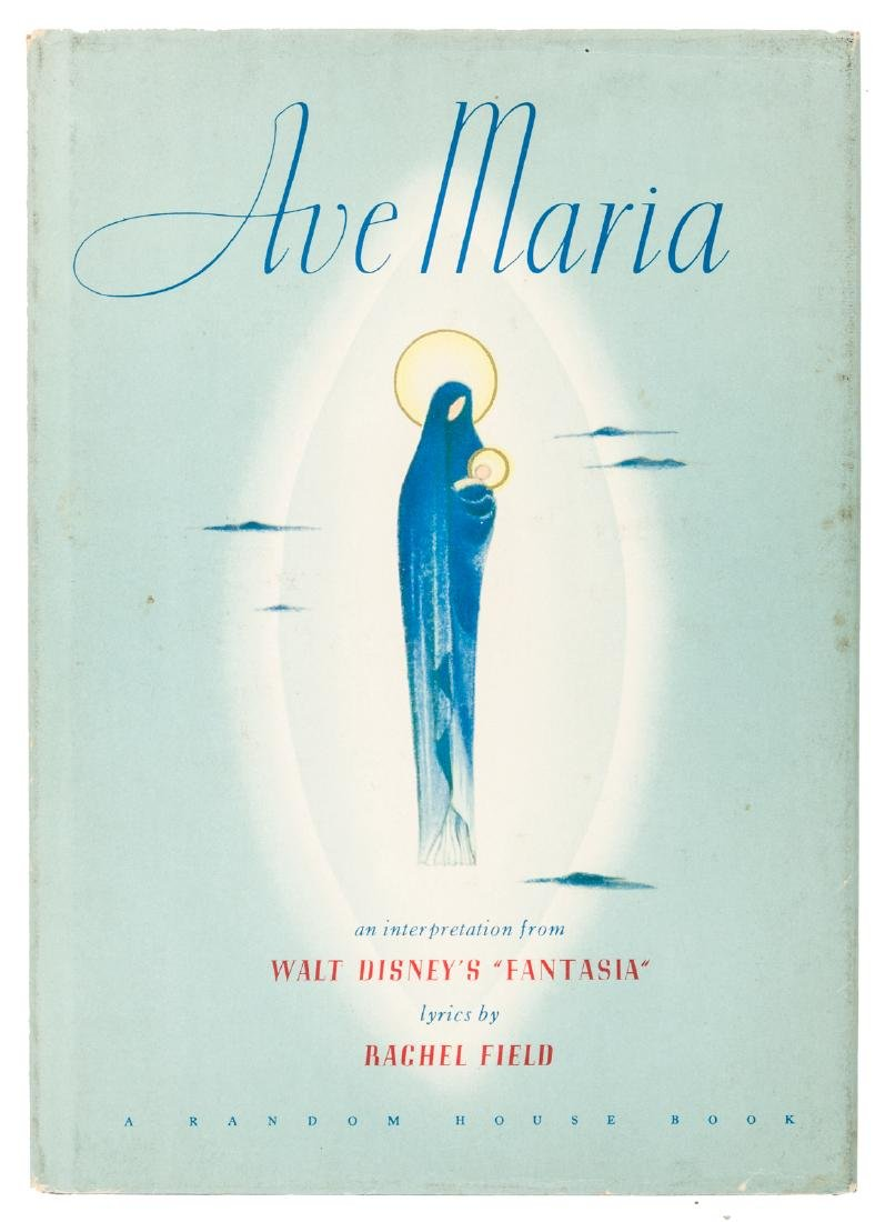 Fantasia's Ave Maria, signed by Walt Disney