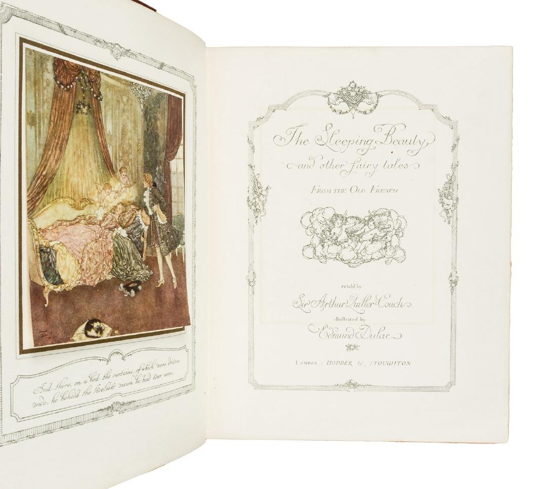 Edmund Dulac Sleeping Beauty Sgd Ltd. Ed. - 2