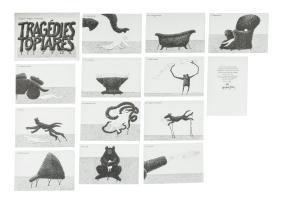 Dogear Wryde Postcards: Tragédies Topiares