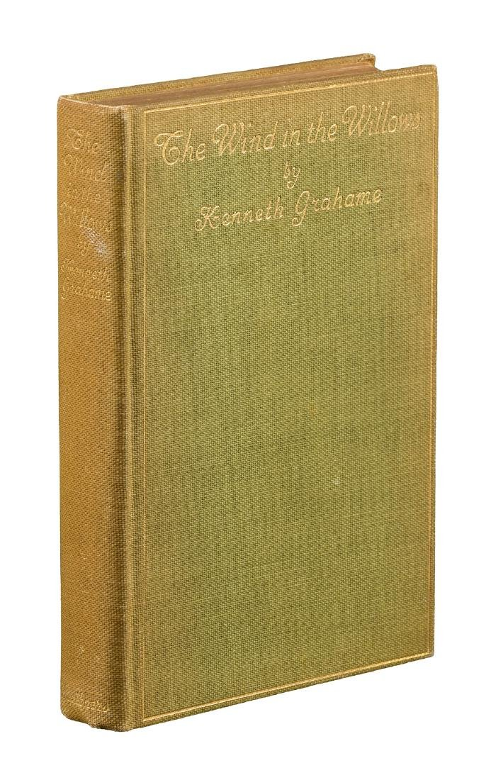 First American edition of The WInd in the Willows