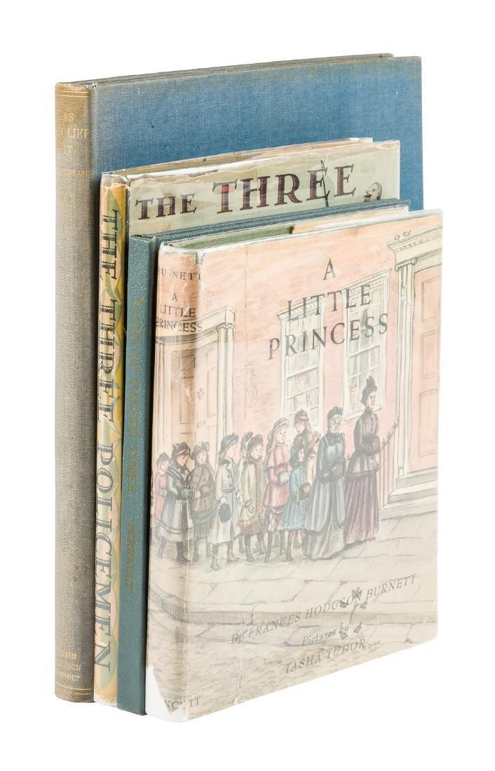 Four illustrated books
