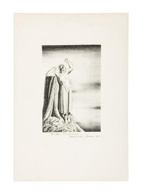 Original signed lithograph by Rockwell Kent