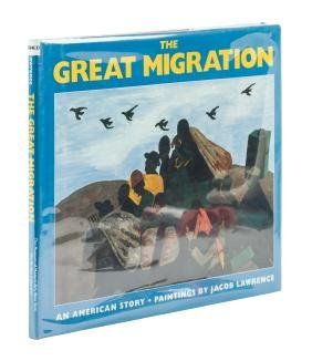 The Great Migrations signed by Jacob Lawrence