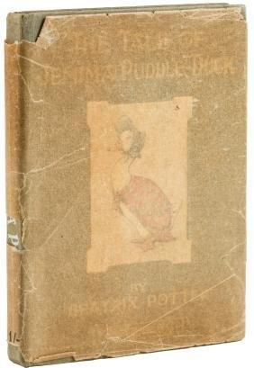 Beatrix Potter Jemima Puddle-duck in dust jacket