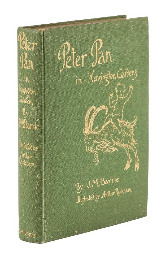 Peter Pan in Kensington Gardens Rackham Illus