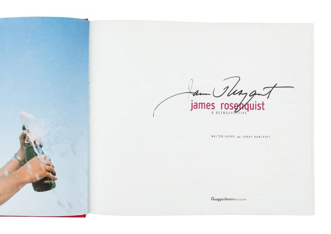 James Rosenquist A Retrospective signed - 2