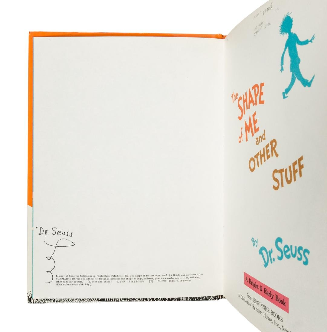 Signed by Dr. Seuss - 2