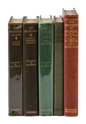 Five illustrated by N.C. Wyeth
