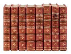 Eight volumes of early 20th century periodicals