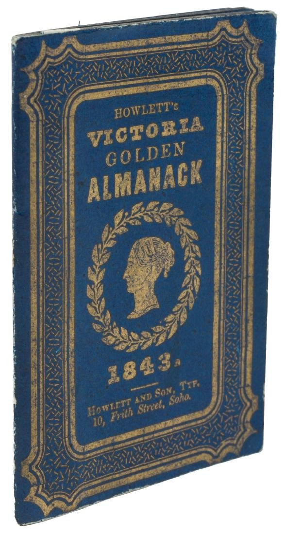 Victoria Golden Almanack for 1843