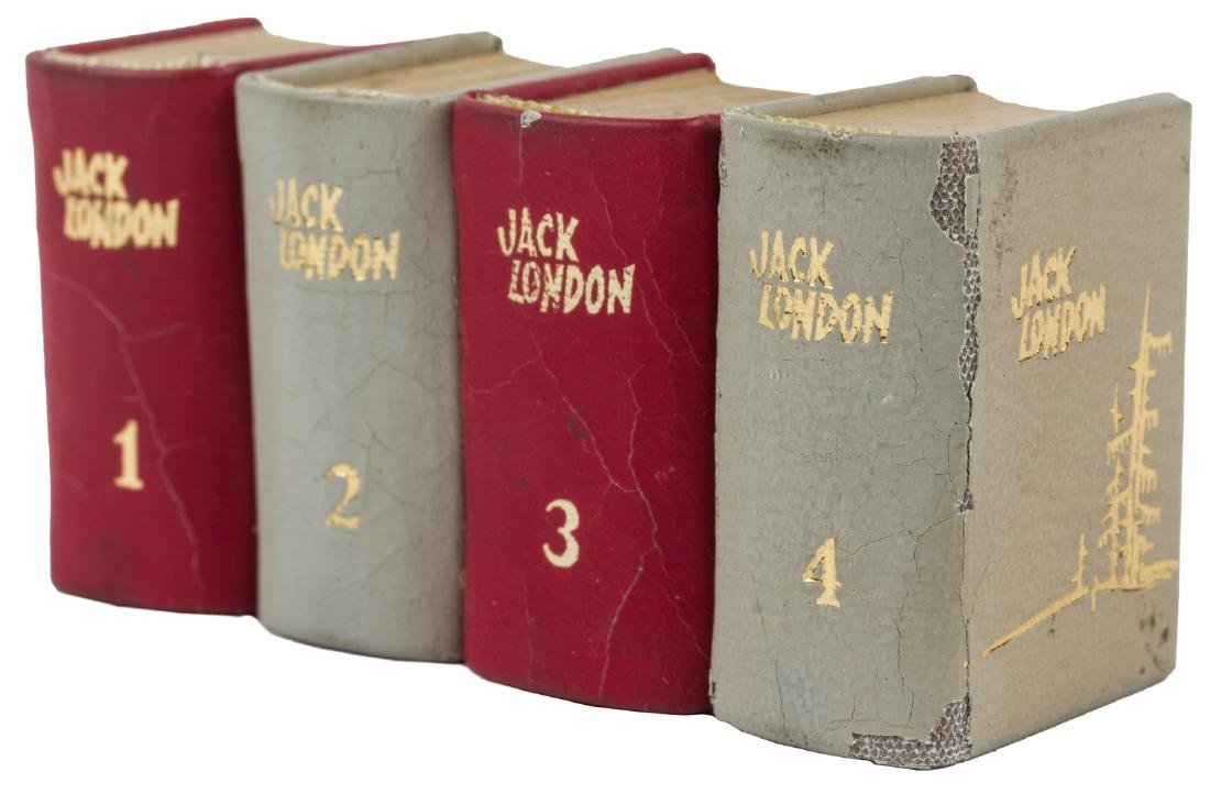 Jack London in miniature 4 volumes