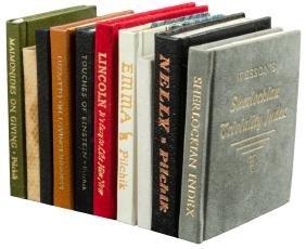 20 Miniature books from the Press of Ward Schori