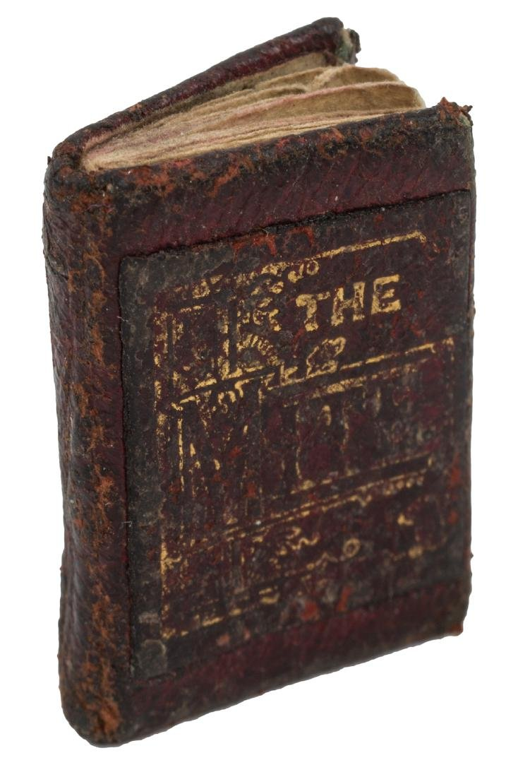 The Mite once the smallest book in the world