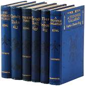 Six first editions by Captain Charles King