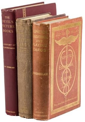 Three volumes on playing cards