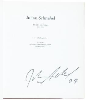 Signed Julian Schnabel