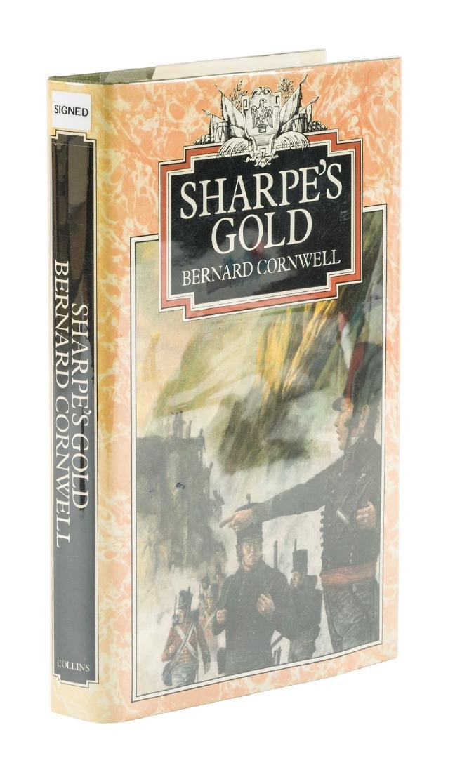 Sharpe's Gold inscribed by Bernard Cornwell