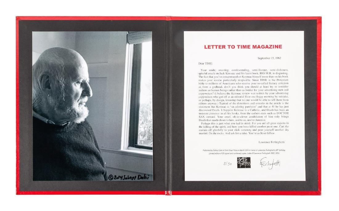 Ferlinghetti, Letter to Time 1/30
