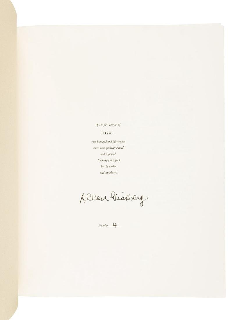 Ginsberg Howl signed limited edition 1986 - 2