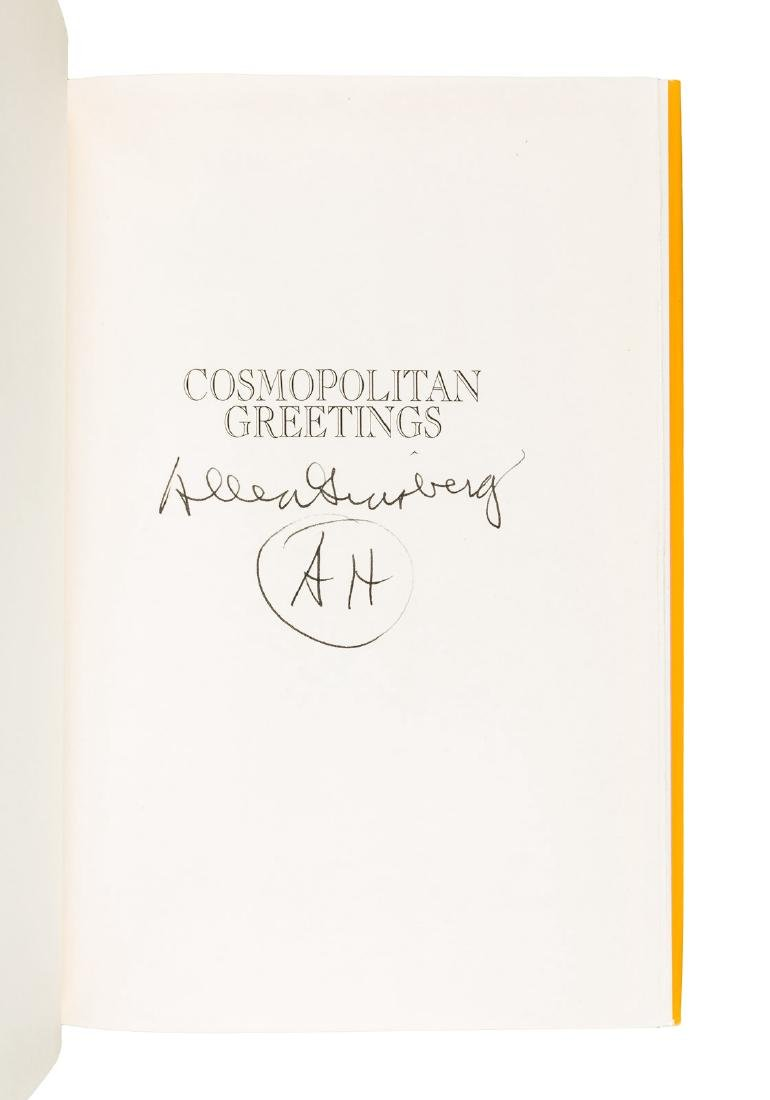 Three works by Allen Ginsberg - two signed - 2