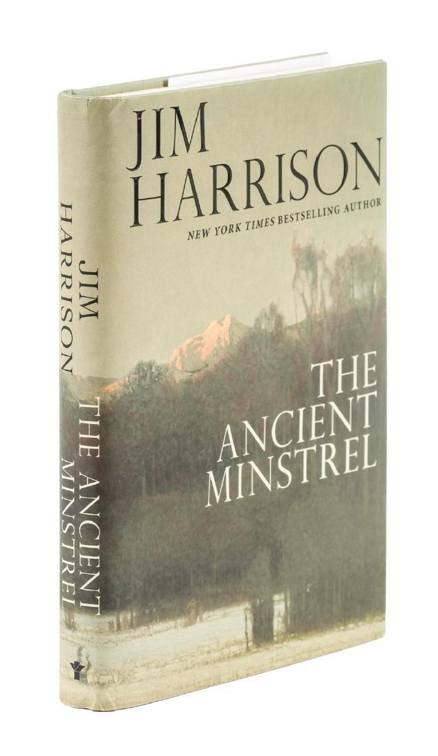 Harrison, Ancient Minstrel signed