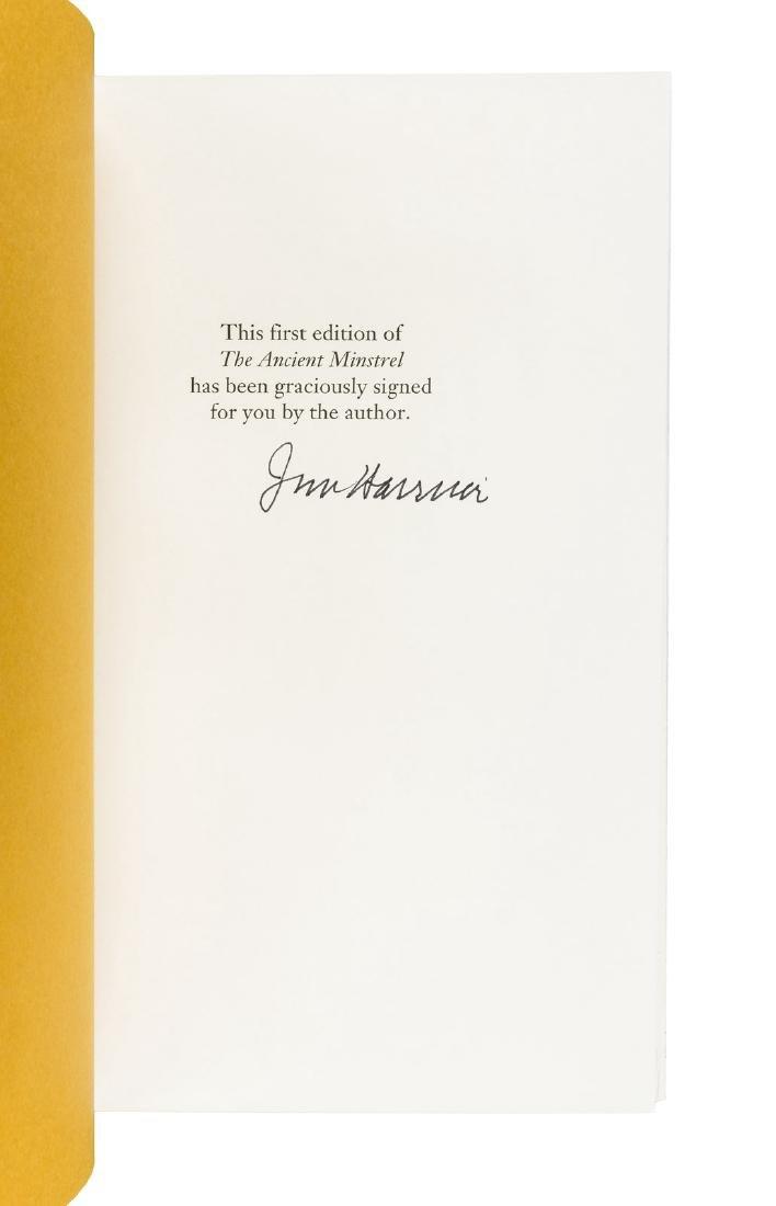 Harrison, Ancient Minstrel signed - 2