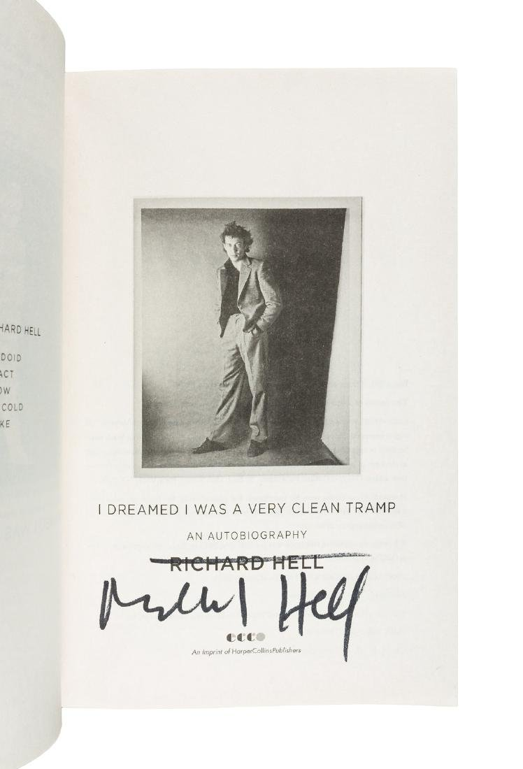 Three signed works by Richard Hell - 2