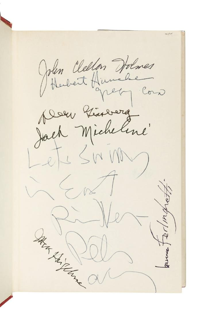 John Clellon Holmes, Go - signed by eight beats - 2