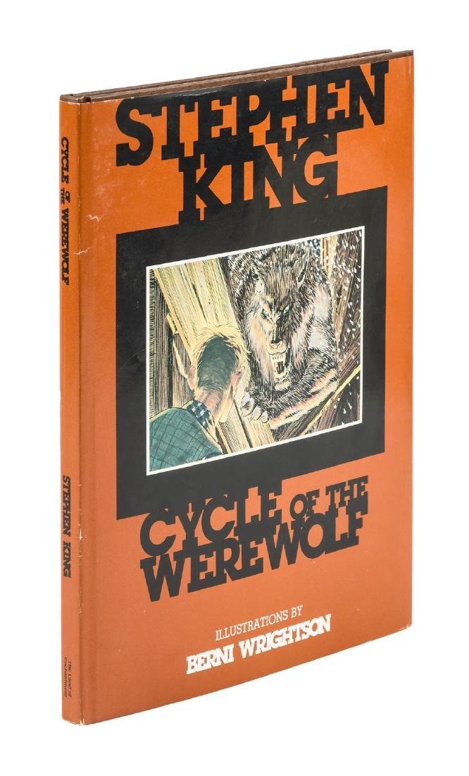 Stephen King Cycle of the Werewolf inscribed
