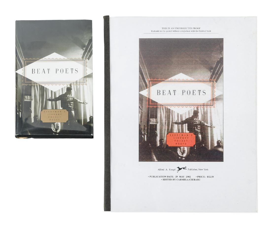 Beat Poets - signed by five poets