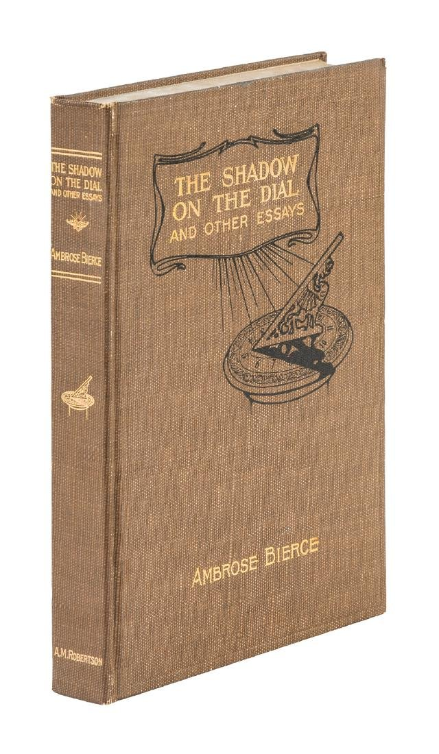 Shadow on the Dial 1st edition by Bierce