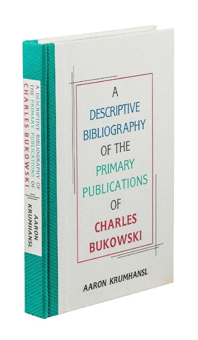 Krumhansl bibliography of Charles Bukowski 1/376