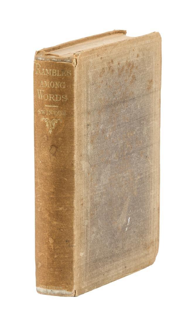 Swinton, Rambles Among Words, 1859