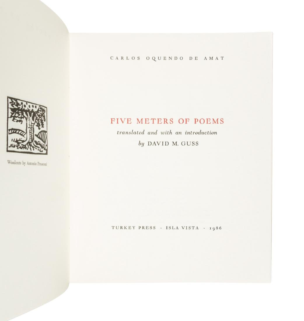 Five Meters of Poems Limited Edition - 2