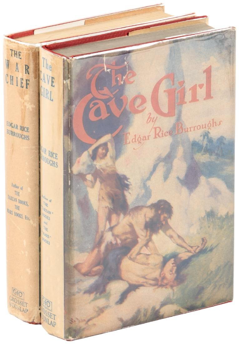 Two titles by Edgar Rice Burroughs