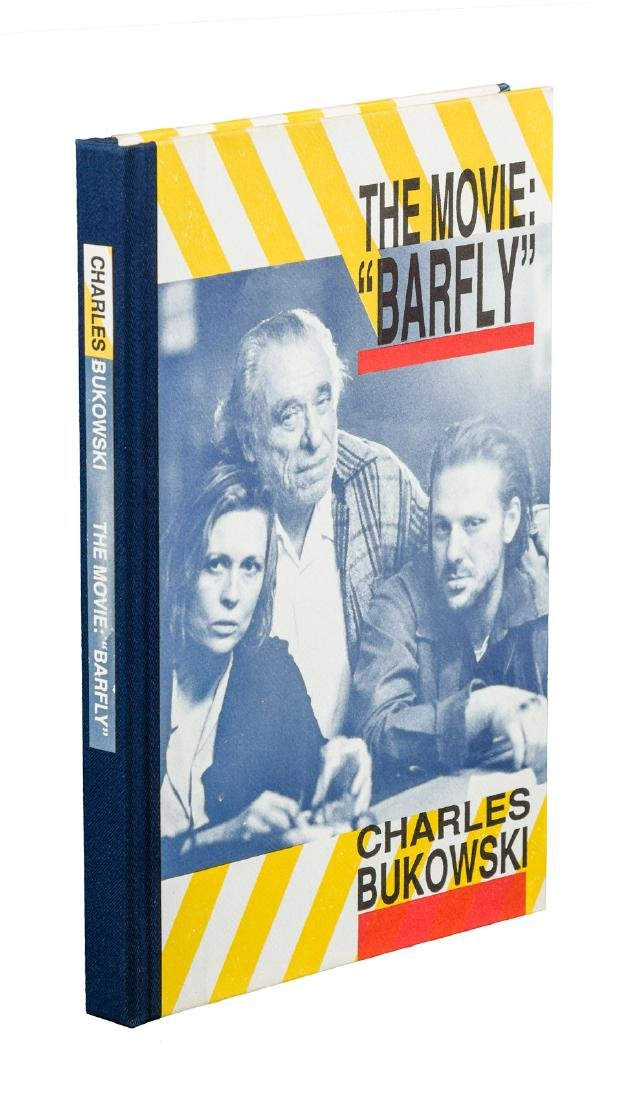 The Movie Barfly signed by Bukowski