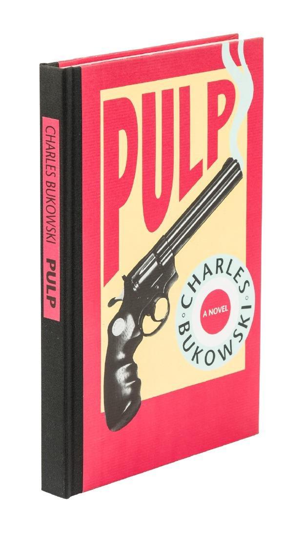 Charles Bukowski Pulp One of 750 copies