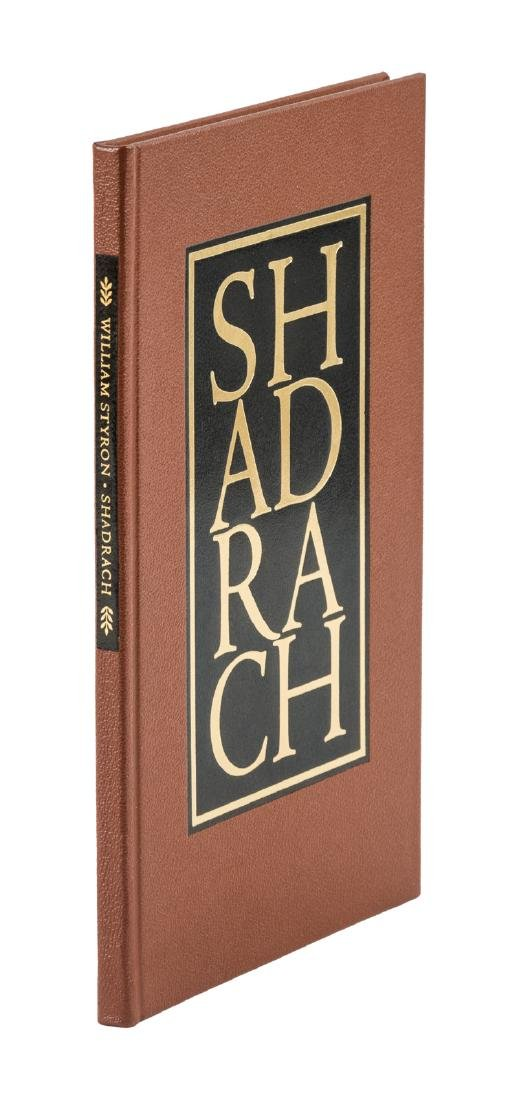 William Styron Shadrach One of 26 lettered copies,