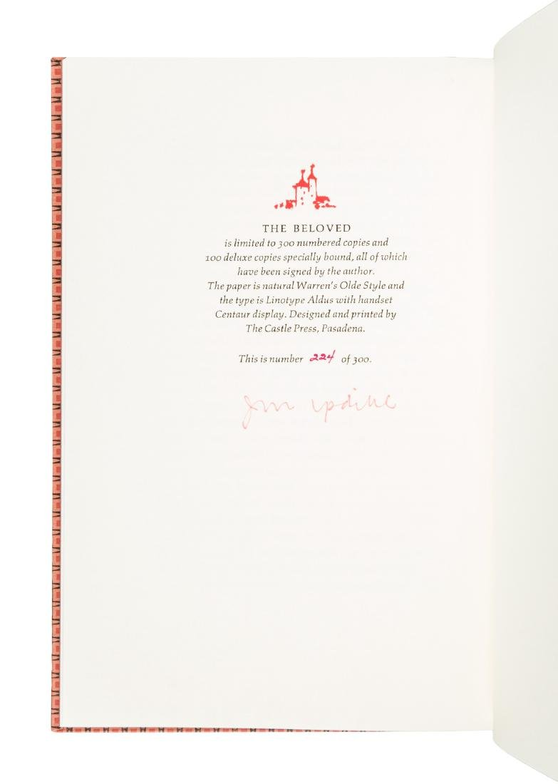 John Updike Signed Limited Editions - 3