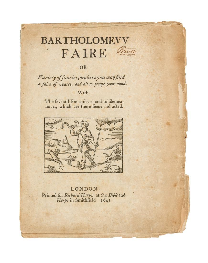 Bartholomew Faire 1641 - 1816 reprinting