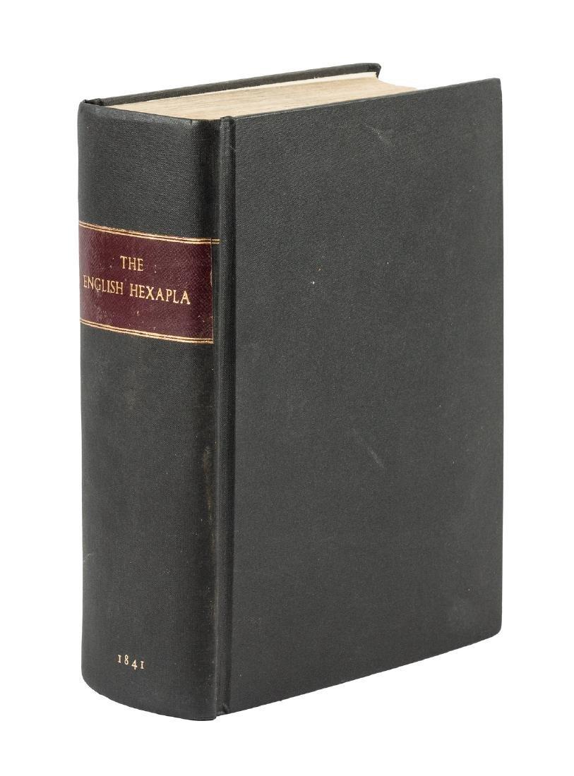 The English Hexapla Bible 1841