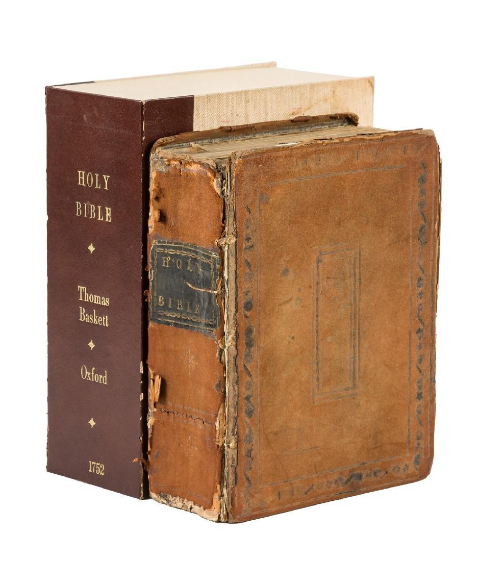 King James version of Bible 1752